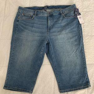 Women's Chaps Capri Jeans